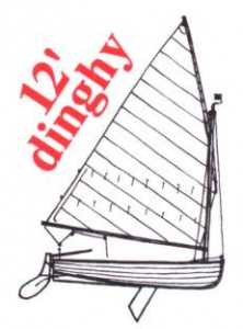 "12ft Dinghy ""Lütt"""